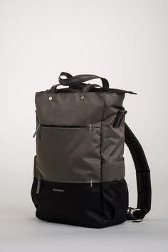 eefa844d85bfb Sherpani Camden Laptop Backpack - Ash
