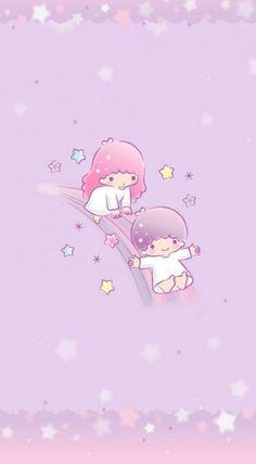 Wallpaper Pastel Iphone Kawaii Little Twin Stars 27 Ideas Sanrio Wallpaper, Star Wallpaper, Hello Kitty Wallpaper, Kawaii Wallpaper, Iphone Wallpaper Quotes Love, Cute Wallpapers, Iphone Wallpapers, Little Twin Stars, Little Star