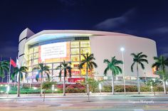 Miami American Airlines Arena by Songquan Deng, via Flickr