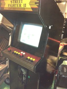 Next project. Make a new Street Fighter II World Warrior cabinet with all new controls.