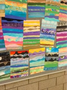 Art at Becker Middle School: Impressionist Watercolor Landscapes