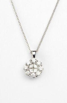 Nordstrom Bony Levy Diamond Flower Pendant Necklace Exclusive) on shopstyle.com