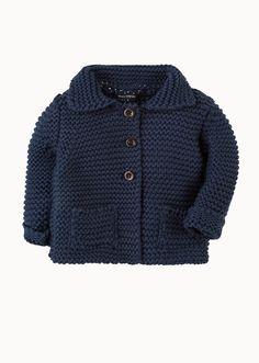 MARC O'POLO, Junior, Baby, Baby Boys, Baby Strickjacke, aus Organic Cotton