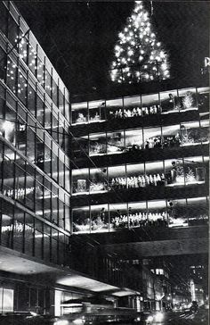 Rich's Department Store, downtown Atlanta -- fabulous old photo. I still miss this great store and the Great Tree.