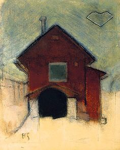 'House in Tammisaari' by Helene Schjerfbeck