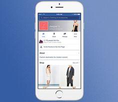 Facebook esta probando tiendas dentro de páginas con un botón de compras