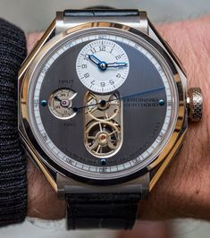 "Chronométrie Ferdinand Berthoud FB1 Watch: Debuting A New-Old Name In Haute Horlogerie - see the all about the brand's heritage, the story of its modern incarnation, and of course, its debut watch with our exclusive hands-on pictures & video - on aBlogtoWatch.com ""To put it mildly, I am skeptical whenever I hear about the modern 'resurrection' of the name and heritage of a famed watchmaker who worked centuries ago. We have seen more than a handful of such stories unfold – into nothing..."""