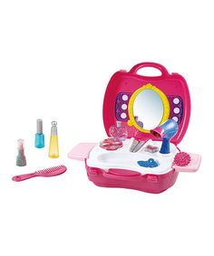 Loving this My Carry Along Beauty Salon Toy Set on #zulily! #zulilyfinds
