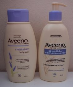 Shrinking Wallet... I may have a problem...: Review: Aveeno Stress Relief Body Wash & Moisturizing Lotion