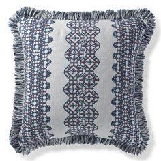 Jambi Stripe Nautical Outdoor Pillow