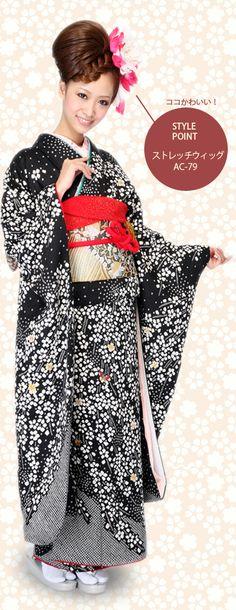 成人式スタイル♪キレイ系和ガールアップスタイル 【大阪・心斎橋】allys hair shinsaibashi OPA stylist:MAYU