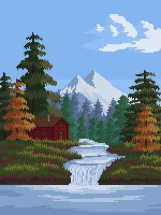 [OC] River : PixelArt