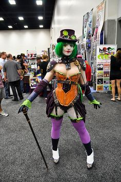 Steampunk Duela Dent of Comic Con