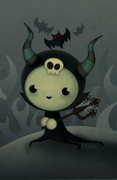 Malefica is back! want to take her home?? check out my Society Store http://society6.com/Liransz/Malefica_Pillow!!
