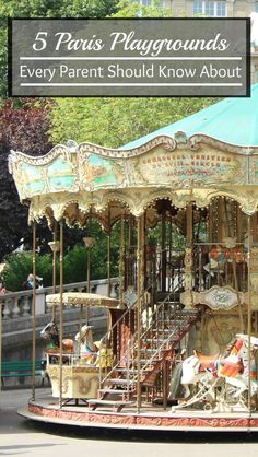 Giving your baby time to play while on vacation is important. Here we tell you where to find great play areas near major attractions in Paris.