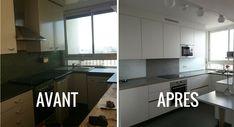 Avant / Après : Epurer et moderniser une petite cuisine des années 70