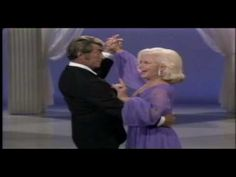 Dean martin and ginger rogers on the dean martin tv show ginger was