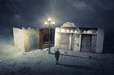Faith is Torment | Art and Design Blog: Imaginary Towns: Photos by Francesco Romoli