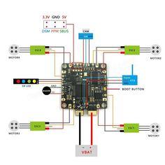 F4 FLAME Race Spec STM32F405 Flight Controller Built-in BETAFLIGHT OSD 5V BEC PDB Current Sensor