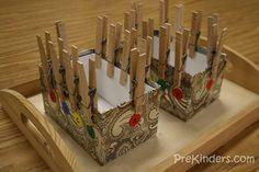 Fine motor skill development activity ideas - lots of great ideas of preschoolers