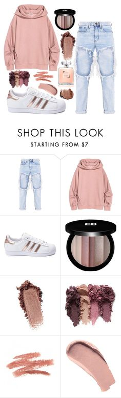 """""""Untitled #706"""" by justinbieber-zaikara ❤ liked on Polyvore featuring adidas, Edward Bess and Burberry"""