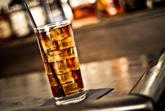 Tea Time Cocktail   1 ½ oz Black Magic 1 ½ oz Tea ½ oz Bourbon ¼ oz Simple Syrup