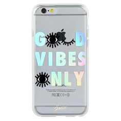 Good Vibes Only iPhone 6/6  Case