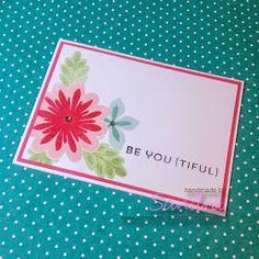 Be you {tiful} kaarten #stampinup #flowerpatch #iredescenticeembossingpowder #bigshotdeal #sanniesscrapzolder #sudemo