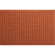 Thirsty Dots® Cayenne Doormat in Doormats | Crate and Barrel