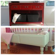 Upcycled Storage Ideas via Two It Yourself