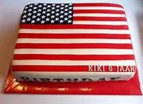 taart amerikaanse vlag - Bing Afbeeldingen