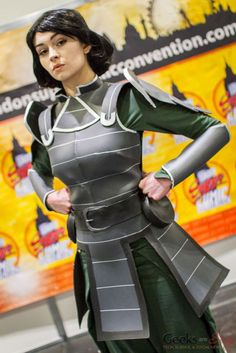Lin Beifong (Avatar) London Super Comic Con 2016 - Photo by Geeks are Sexy Cosplay Makeup, Cosplay Outfits, Cosplay Girls, Cosplay Costumes, Avatar Aang, Avatar The Last Airbender, Amazing Cosplay, Best Cosplay, Lin Beifong