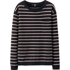 Extra Fine Merino Striped Sweater, $39.90 | UNIQLO
