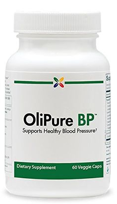 Stop Aging Now OliPure BP™ Blood Pressure Support Formula - 60 Veggie Caps  Features 1000 mg of standardized Benolea olive leaf extract, which has been studied and shown to improve blood pressure levels  Benolea undergoes the special EFLAHyperPure treatment to remove any possible pesticide residues, contaminants and pollutants  Includes potent doses of celery extract and magnesium, which work together to help support normal blood pressure levels  Supports healthy blood pressure balance...