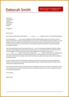Cover letters for sales assistant retail