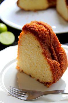 """What you give away you keep."": Key Lime Bundt Cake"
