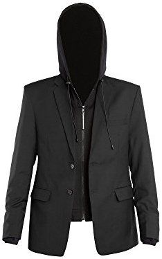 Baubax Travel Jacket Blazer Female Black Mt