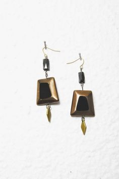 """marmod8 """"magnetic fields earrings"""""""