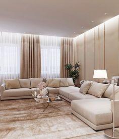 Living Room Sofa Design, Living Room Decor Cozy, Home Room Design, Living Room Interior, Home Living Room, Home Interior Design, Living Room Designs, Modern Living Room Design, Modern Tv Room