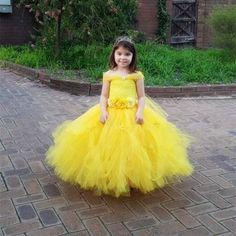 33.54$ Buy here - https://alitems.com/g/1e8d114494b01f4c715516525dc3e8/?i=5&ulp=https%3A%2F%2Fwww.aliexpress.com%2Fitem%2FFlowers-Belle-Princess-Tutu-Dress-Girls-Baby-Kids-Fancy-Party-Christmas-Halloween-Costumes-Beauty-Beast-Cosplay%2F32774943450.html - Flowers Belle Princess Tutu Dress Girls Baby Kids Fancy Party Christmas Halloween Costumes Beauty Beast Cosplay Dress Ball Gown
