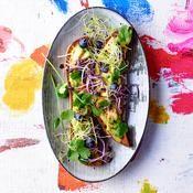 Avocado toast et gomasio - une recette Détox verte - Cuisine