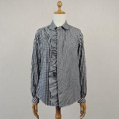 フリルのシャツ / モリカゲシャツ