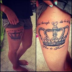 45 Thigh Tattoo Ideas for Girls (11)
