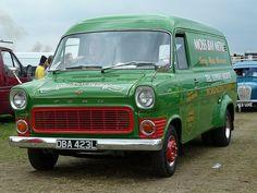 1972 Ford Transit MK1 Van - 2.0 V4 Petrol transporting Europe, robbering England