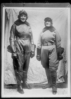 They fought fires, hauled coal and manufactured missiles — women stepped into the workforce during WWI.