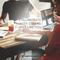 Our plans for Babcock Ranch include to build a space for coworking for all the innovators and entrepreneurs out there. How will you collaborate?