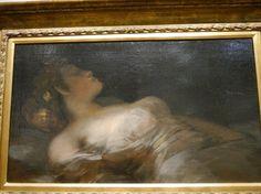 Франсиско де Гойя. Спящая девушка. El Sueno 1800 г. Dublin, Ireland-1