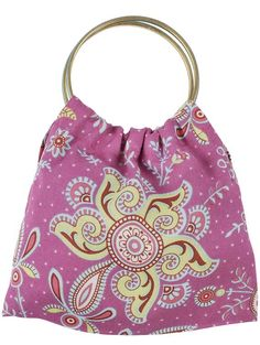 Simple sewing project: Make a bangle bag