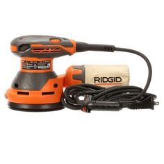 RIDGID 5 in. Random Orbit Sander with AIRGUARD Technology-R26011 - The Home Depot