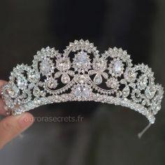 Keppels Accessoires de mariage Serre-t/ête avec perles et cristaux